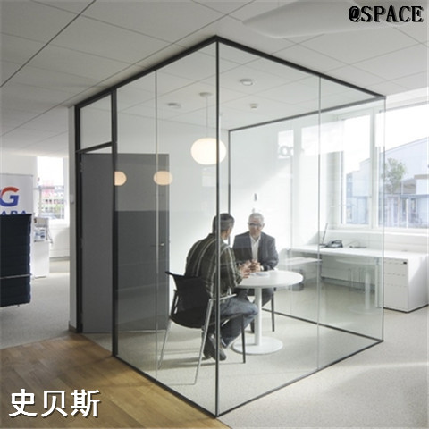 颜色可定制玻璃隔断加工型号齐全